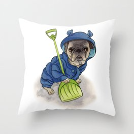 Moe Throw Pillow