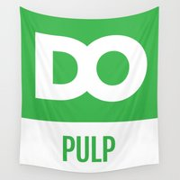 pulp Wall Tapestries featuring DO Pulp by The Daily Orange