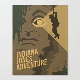 The Indiana Jones Adventure Canvas Print