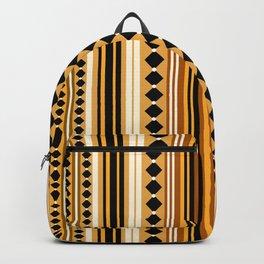 Verticals yellow Backpack
