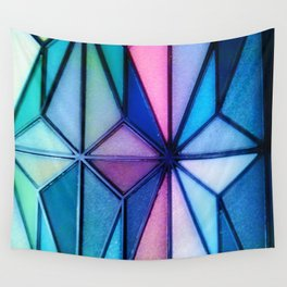 triangle tangle Wall Tapestry