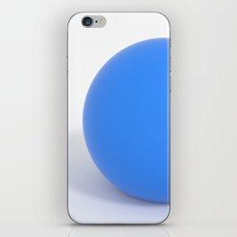 SuperClean - Blue iPhone Skin