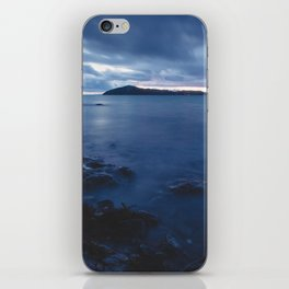 Blue Sunset on the Water, New Zealand iPhone Skin