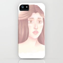 Grey Pearl iPhone Case