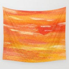 Fallen Sun Wall Tapestry