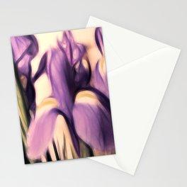 Soft Iris Stationery Cards
