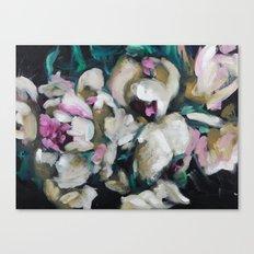 Blurred Vision Series - Blush Peonies No. 1 Canvas Print