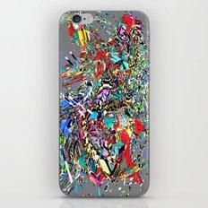 gutcotmot iPhone & iPod Skin