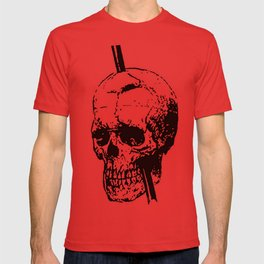 Skull of Phineas Gage With Tamping Iron T-shirt