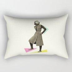 Shapely Figure Rectangular Pillow