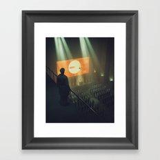 ZERO.NINE (everyday 02.06.17) Framed Art Print