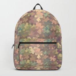 Geometric in sephia Backpack