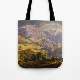 View from Stalheim (Fra Stalheim)  Tote Bag