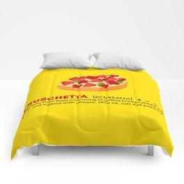Bruschetta su Giallo Comforters