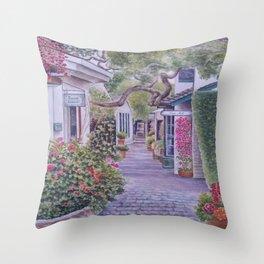 Peace of Carmel Throw Pillow