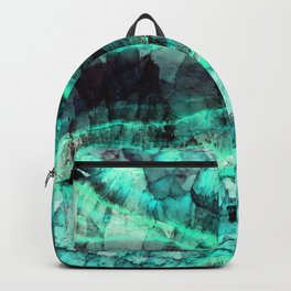 Turquoise onyx marble Backpack