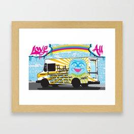 Love All Framed Art Print