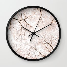 blossom #society6 #decor #buyart Wall Clock