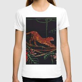 Jungle Cat, Leopard T-shirt