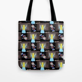 They're Here Tote Bag