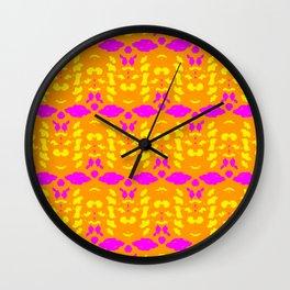 Kaleidoscope Leopard Stripe Wall Clock
