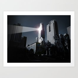 Dooms day LA Art Print