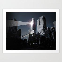 Dooms day LA Art Print