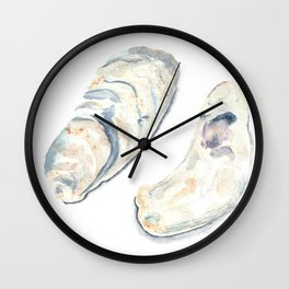 Oyster Shells Wall Clock