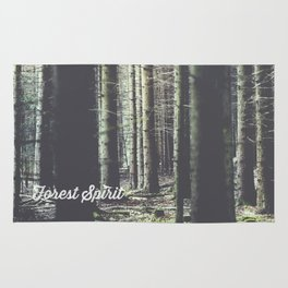 Forest feelings Rug