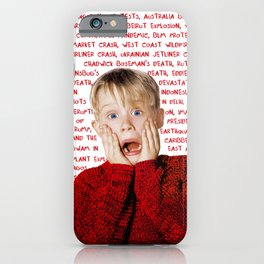 List of the worst events of 2020 iPhone Case