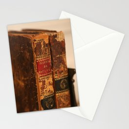 Antique Books 2 Stationery Cards