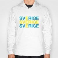 sweden Hoodies featuring SWEDEN by eyesblau