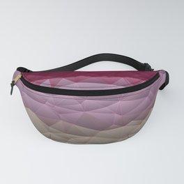 Quilted Stripe Pantone Ultra Violet Design Fanny Pack