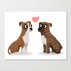 Custom Boxers Canvas Print