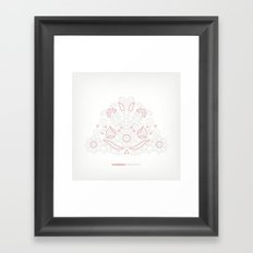 Hungarian Embroidery no.14 Framed Art Print