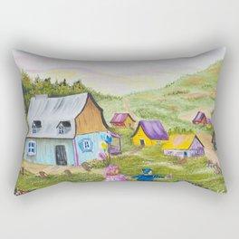 Diane L - Premiers amours Rectangular Pillow
