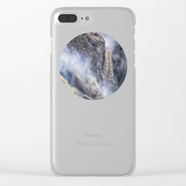 The magnificent Barron Falls Clear iPhone Case