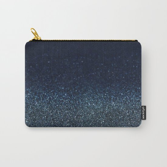 Shiny Glittered Rain Carry-All Pouch