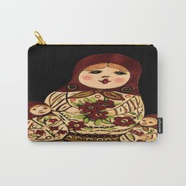 Russian dolls 2 / warmer colors  Carry-All Pouch