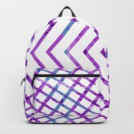 Purple Diamonds Backpack