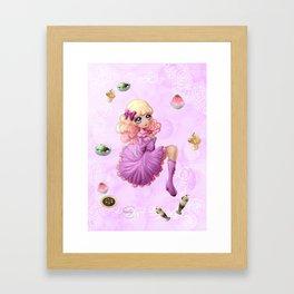 Desserts en volume - Pop-up desserts Framed Art Print