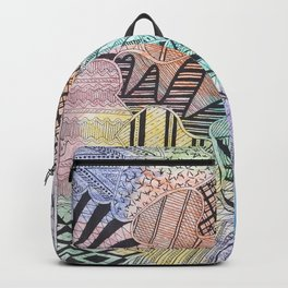 Organized Chaos - Rainbow Backpack