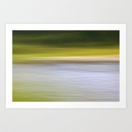 Lakeside Motion Art Print