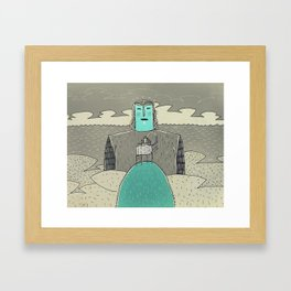 Cityelephant asked counsel to God Framed Art Print