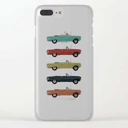Five Falcons Clear iPhone Case