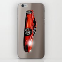 ferrari iPhone & iPod Skins featuring FERRARI 458 by MATT WARING