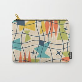 Mid Century Modern Abstract Pattern 761 Carry-All Pouch