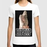 hiphop T-shirts featuring HIPHOP GUY by Robleedesigns