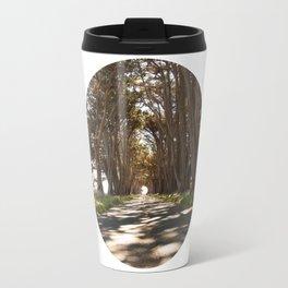 Tunnel of Trees Photography Print Travel Mug