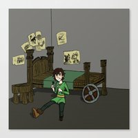 hiccup Canvas Prints featuring Hiccup Adjustments by Gio Garcia